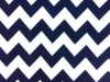 Navy Blue Chevron