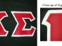 Greek: Sewn (Twill) Letters Photo Gallery